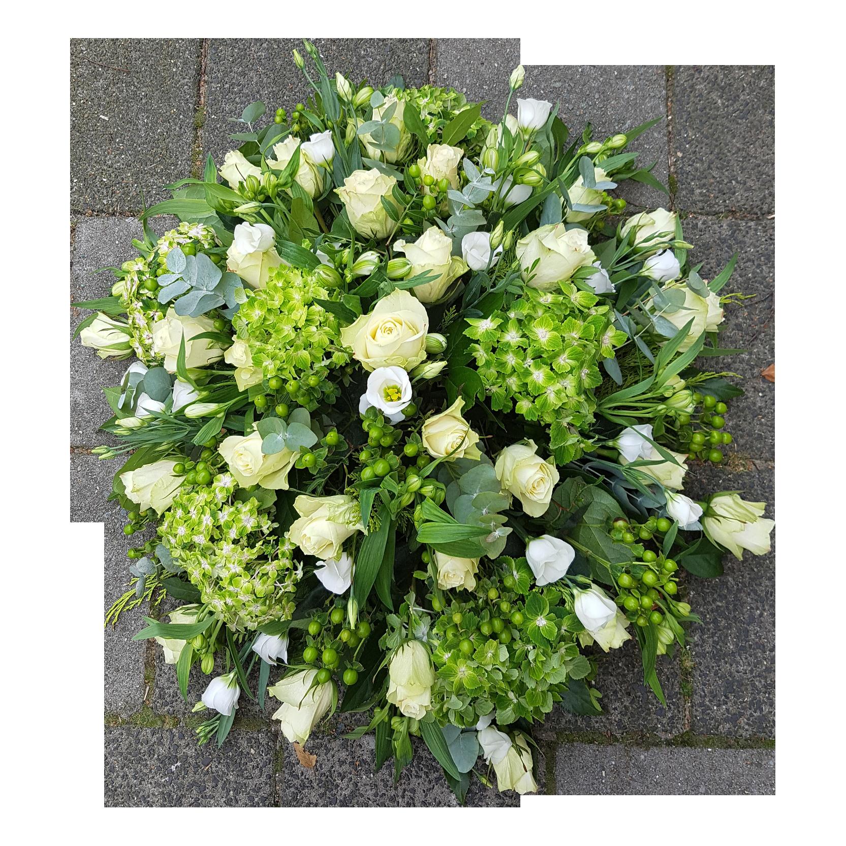 rouwbiedermeier groen